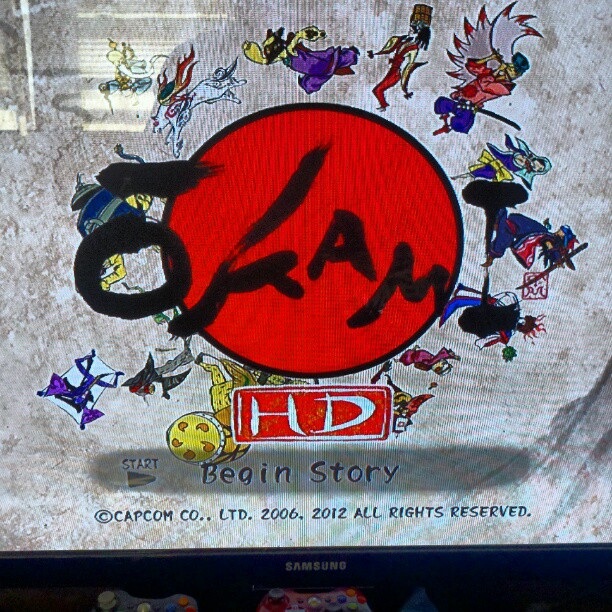 infinitestrike :     Supporting Okami for a second time. Amazing game!     Keep an eye out for Marcus' review on Okami HD!