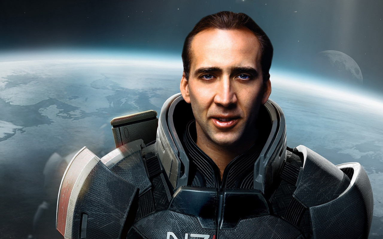 -Samer Farag …There aren't really words for this. But I would TOTALLY play as him even more-so than President Obama. That has to say something.