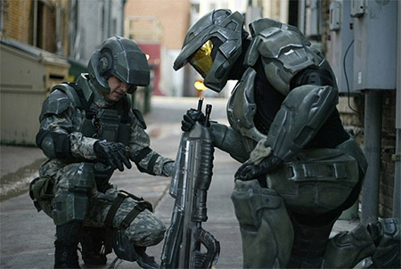 Master Chief made me care. Then we hugged, like men!