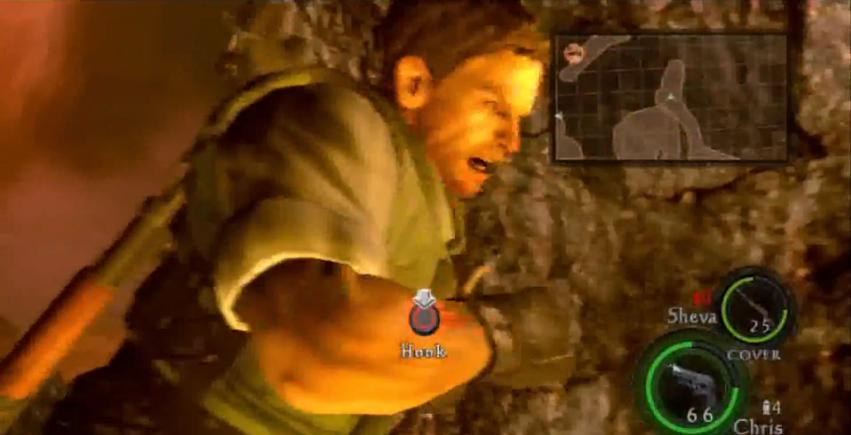 Survival horror? No need for what made us a household name. Punch a boulder inside of a volcano instead.