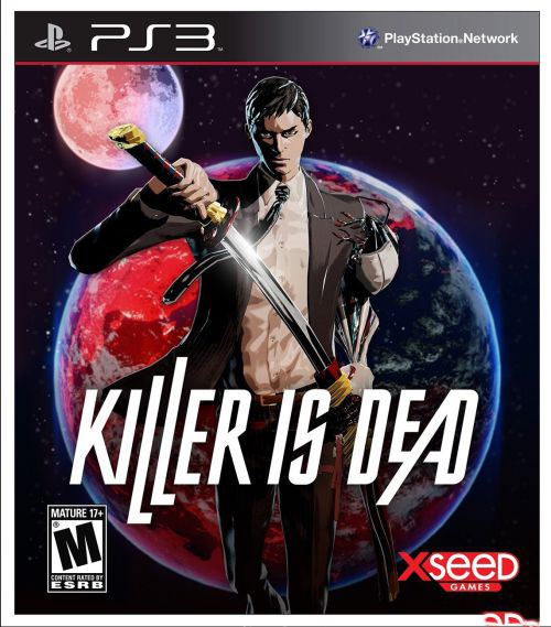 Developer: Grasshopper Manufacture Publisher(s): (JP): Kadokawa Games                       (NA): Xseed Games                       (PAL) Deep Silver  Consoles:  PlayStation 3, Xbox 360 Genre: Hack and slash   Release Dates: (JP): August 1st                            (NA): August 27th                            (EU): August 30th  Player(s): Single  Rating: M (Blood and Gore, Intense Violence, Sexual Themes)