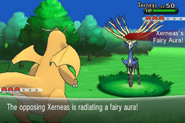 Capture the legendary Xerneas!