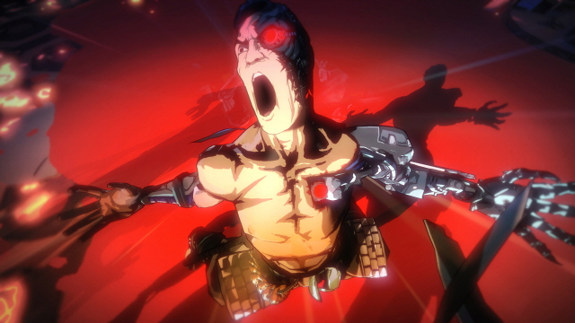 Yaiba entering Bloodlust
