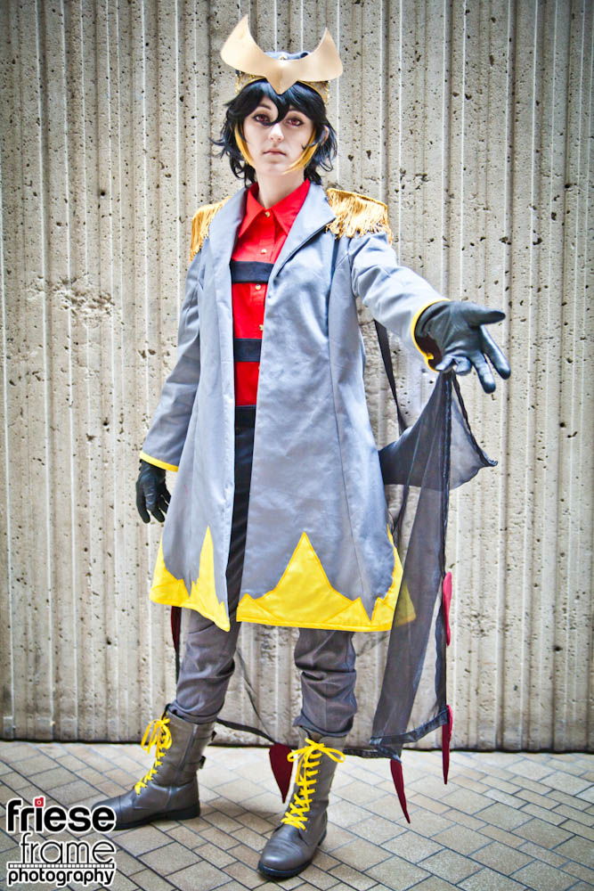 Giratina Gijinka cosplay at Youmacon 2014