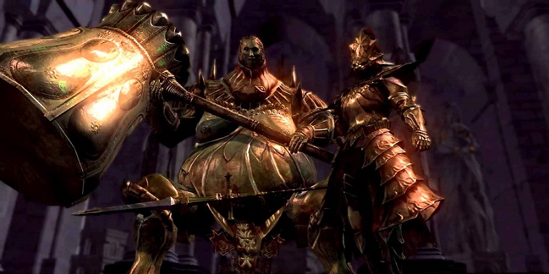 Many players will probably never notice that Ornstein and Smough themselves are rich in back story, assuming you're willing to look for it