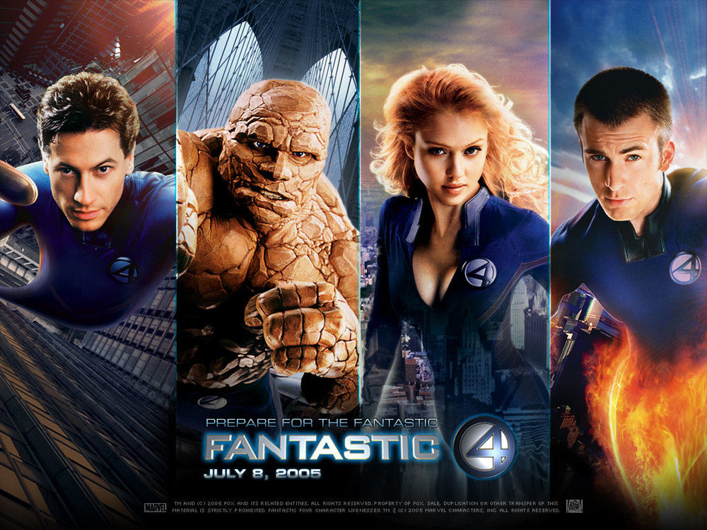 The Fantastic Four was sneaky successful. Also, Jessica Alba was crazy hot, and if nothing else it made us give Chris Evans another shot.