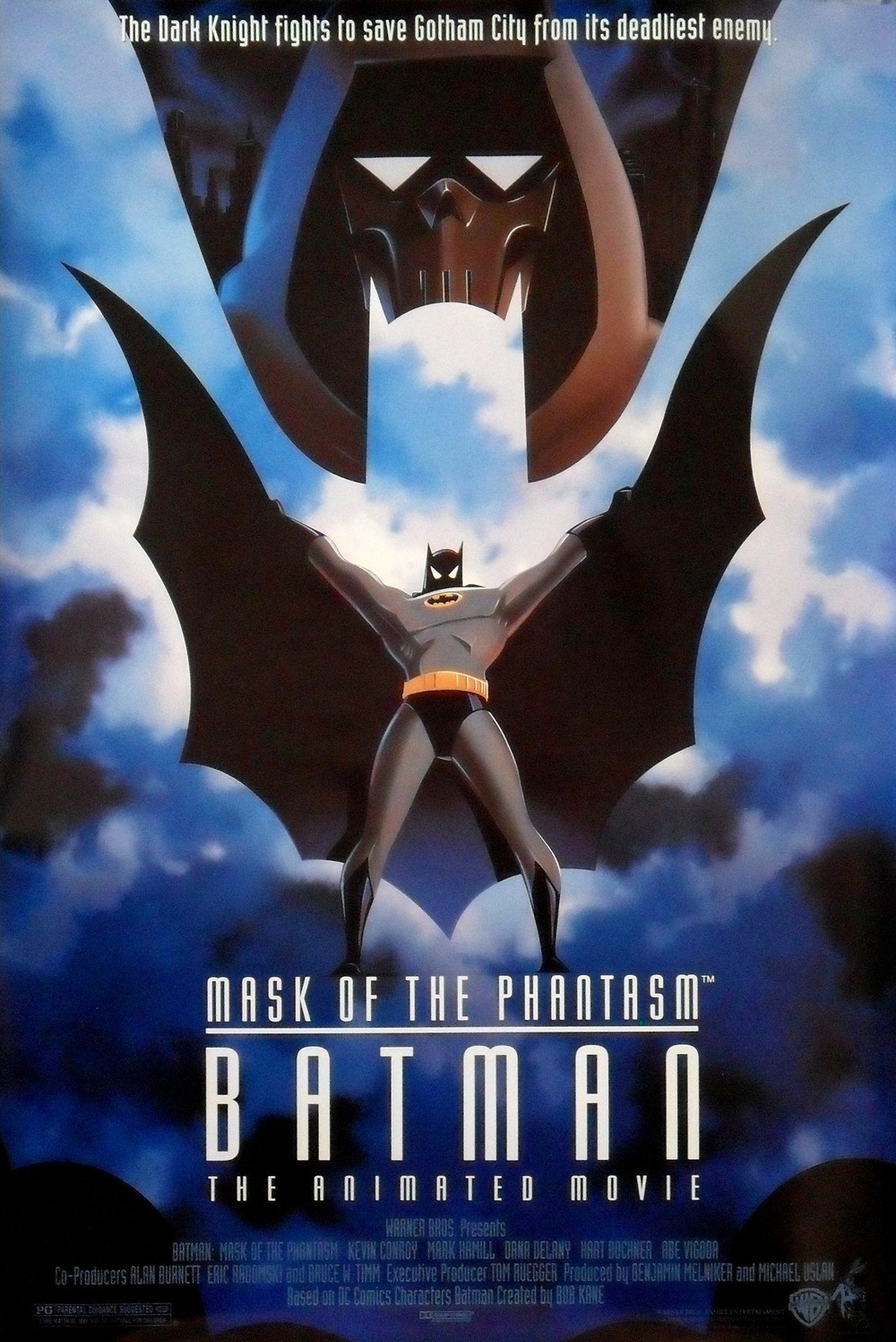 While I did not include Mask of the Phantasm, mainly because it was only ever released on 1,500 screens and for only about 7 weeks, it was still the best Batman movie of all time and it deserves some recognition...