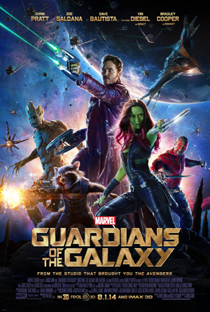 I can't tell of GOTG is proof that comic book movies will always sell, or proof that we are definitely living in a nerd bubble that will pop any second now...