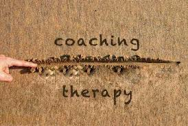 How is coaching different than therapy?