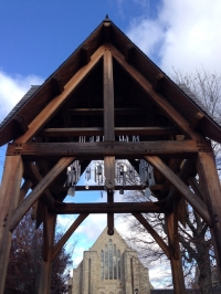 The Memorial chimes at St. Olaf College