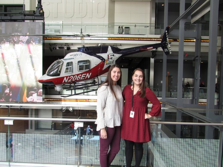 Dana Teets '19, Intern at the Newseum