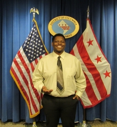 Denzel Averhart '18, Intern at the DC Mayor's office
