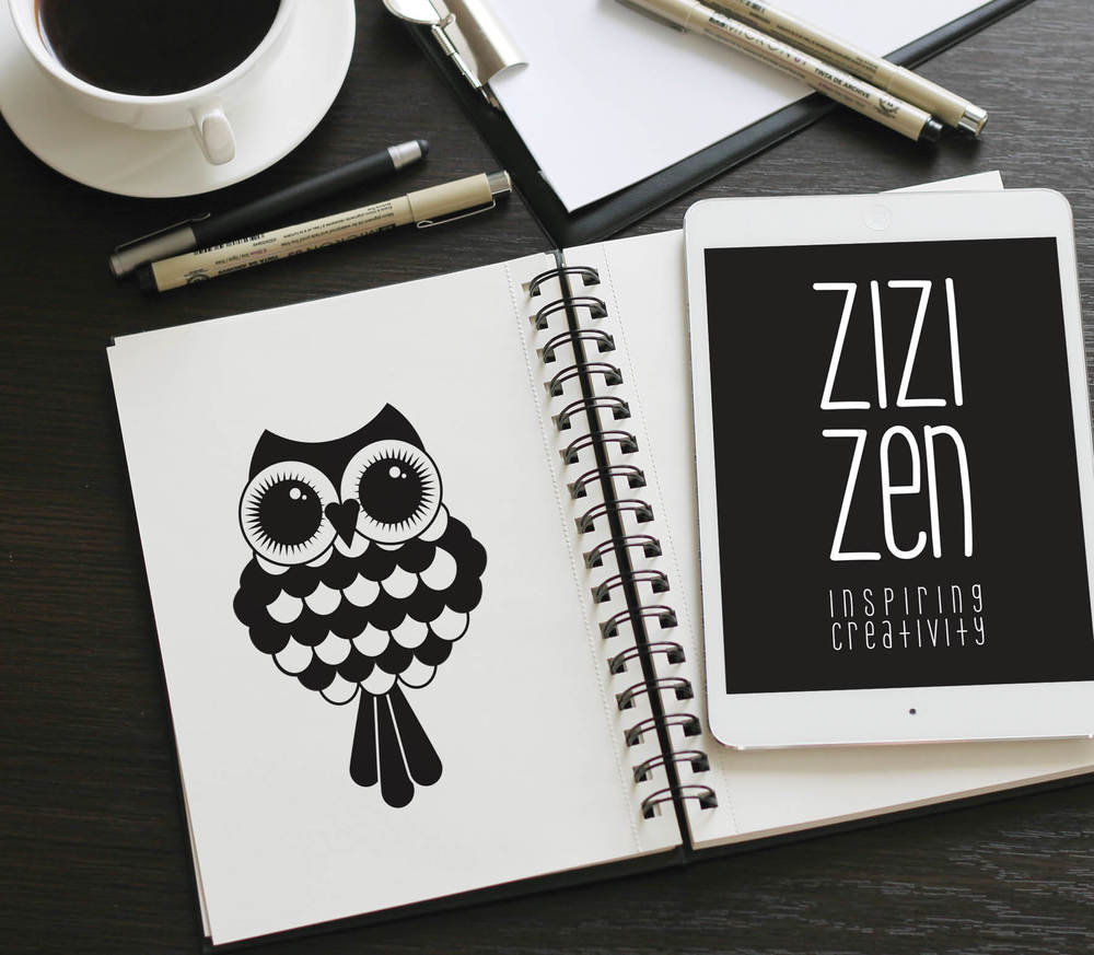 Logo design & branding - Zizi Zen