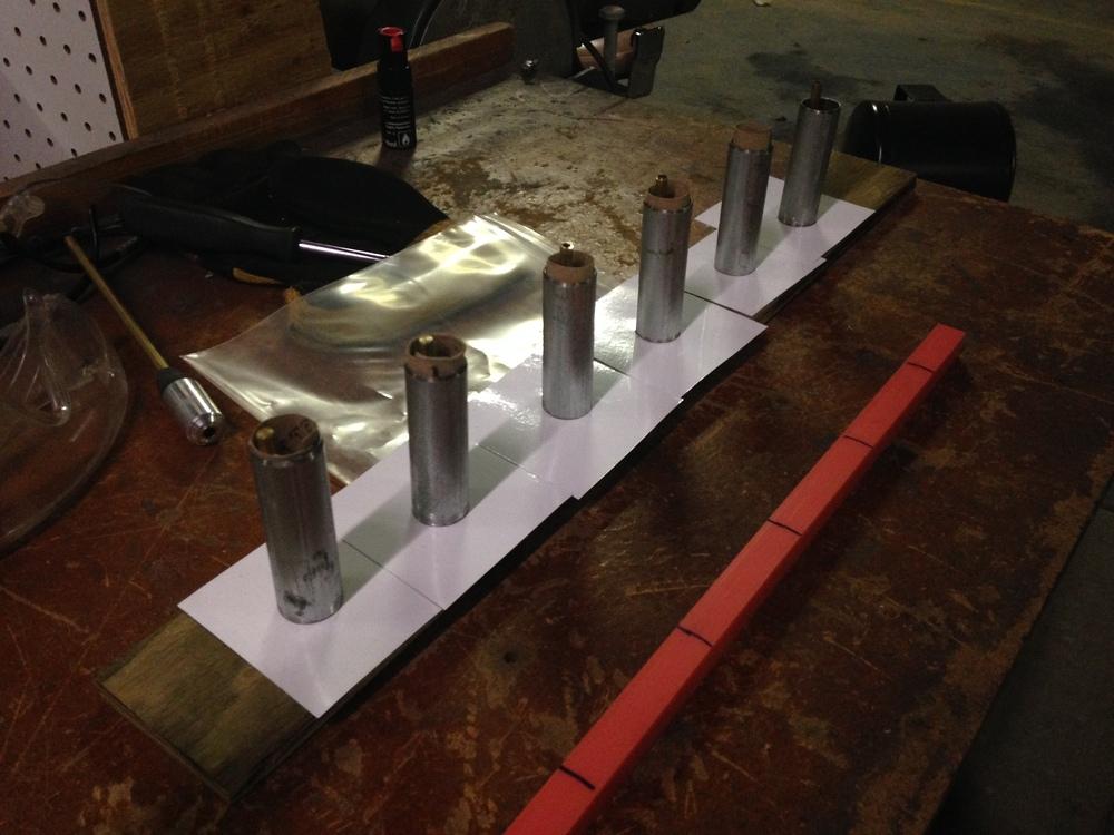 Grain casting tubes