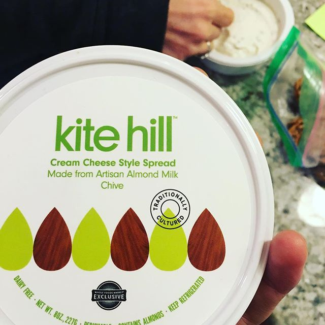That moment you can #eat #cheese again... #vegan #food (I'm not vegan, just #dairyfree) #THANKYOU @kitehillcheese!!