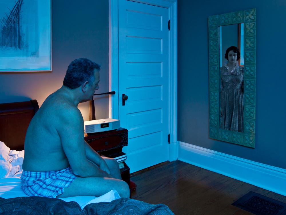 "John, Up Late, archival digital pigment print, 30x40"""