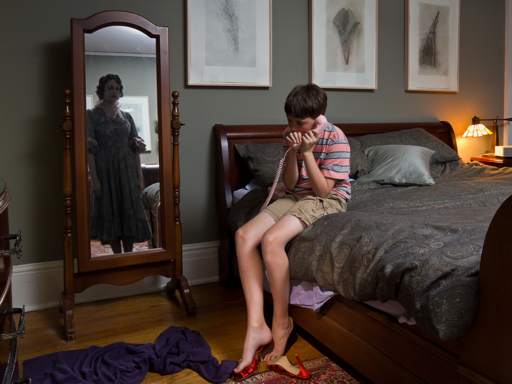 """Kevin in his Parents' Room, archival digital pigment print, 30x40"""""""