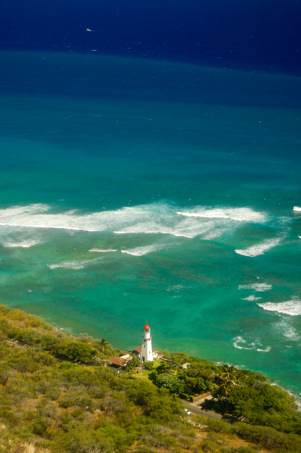 Lighthouse, Diamond Head, O'ahu, Hawaii