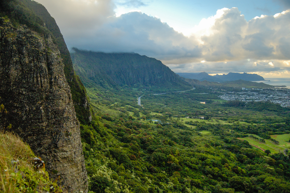 Nu'uanu Pali Lookout, O'ahu, Hawaii