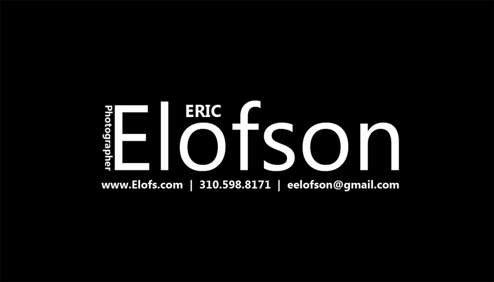 Business Card - Eric Elofson