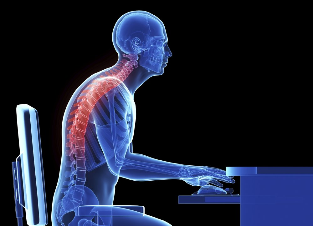 The thoracic spine - Almost always the lead domino in shoulder injury and dysfunction, and you can blame your homework/teacher/desk for it.