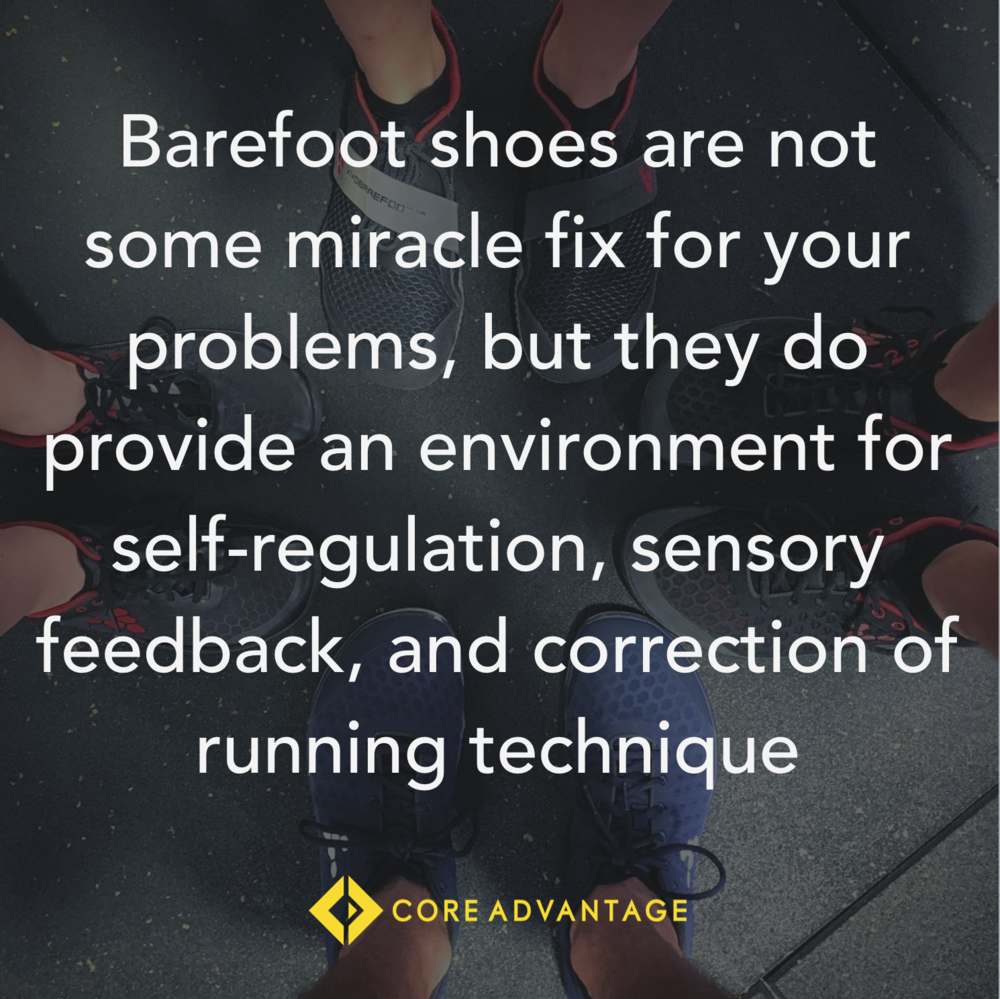 Barefoot Shoes and Running