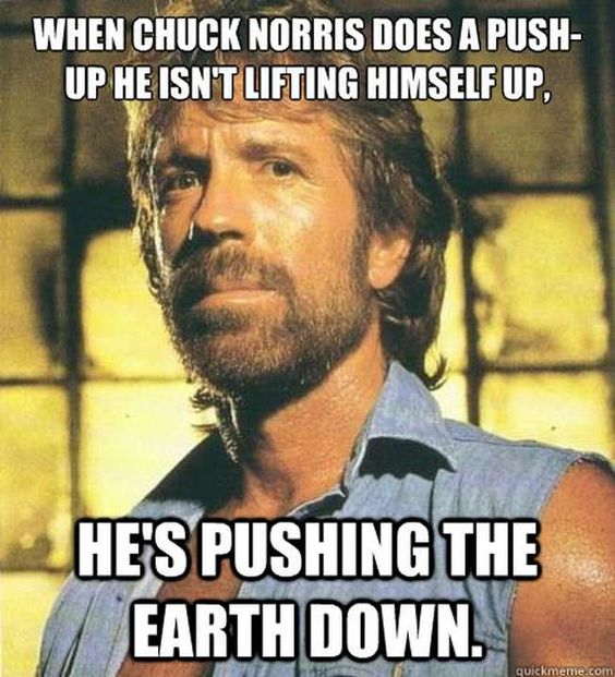 Chuck Norris the original meme