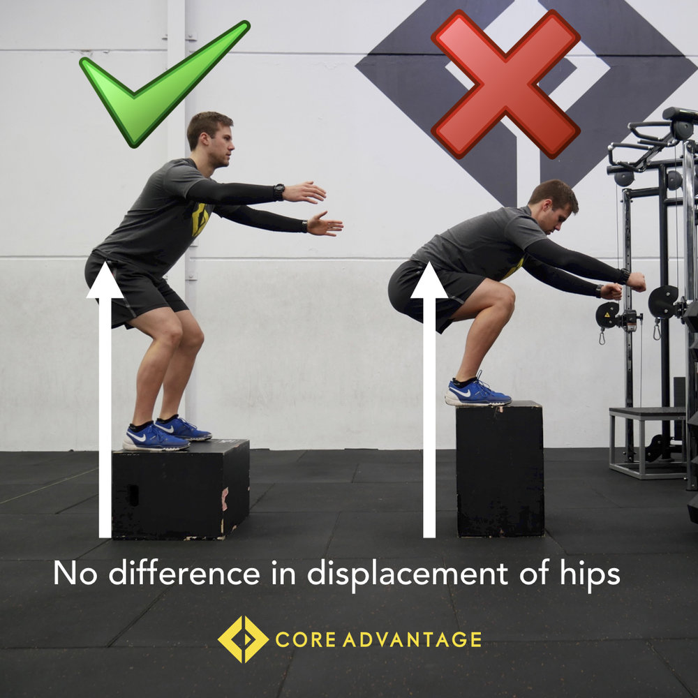 BOX JUMP GOOD VS BAD