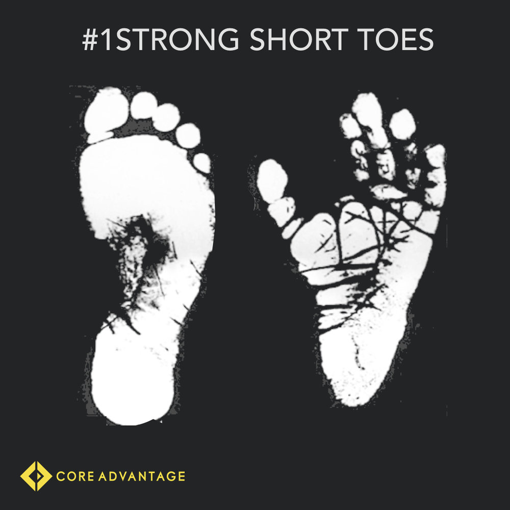 #1 Short strong toes