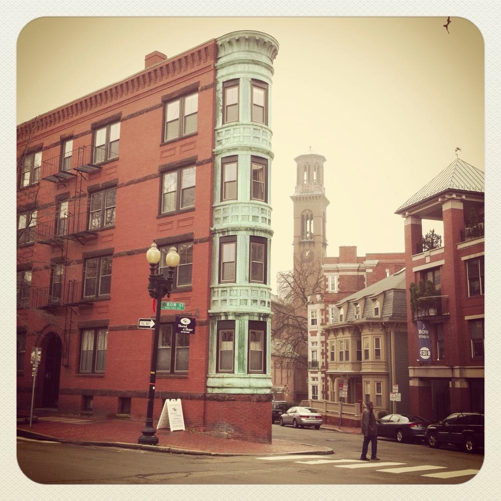 Boston...just us