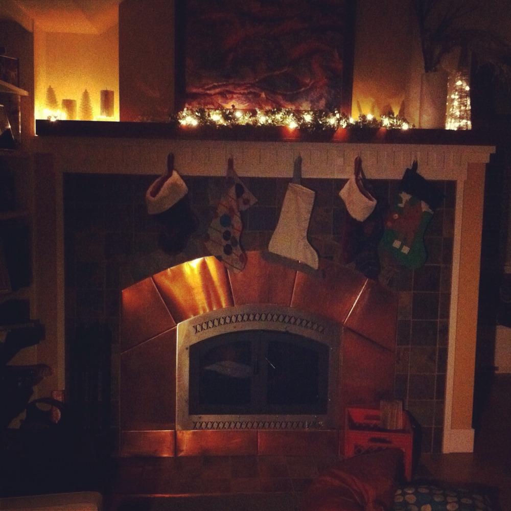 Christmas Eve and Christmas Morning 2011
