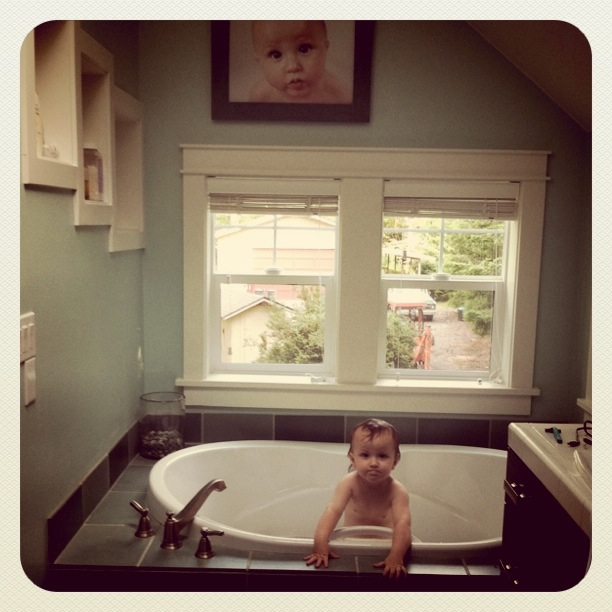 Glenn...chillin', bath time, swimming