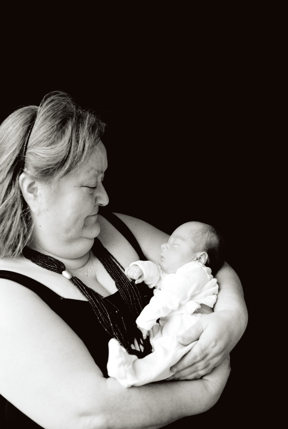 Finally, what my Auntie has been waiting for...a picture of her and her grandson, Mason.  Isn't he the cutest.  I am grateful for him...his session was a lesson and will make me a better photographer.