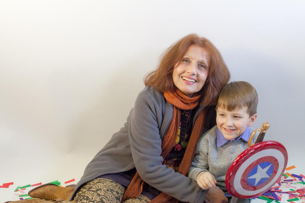 Glenn and Grandma Mari