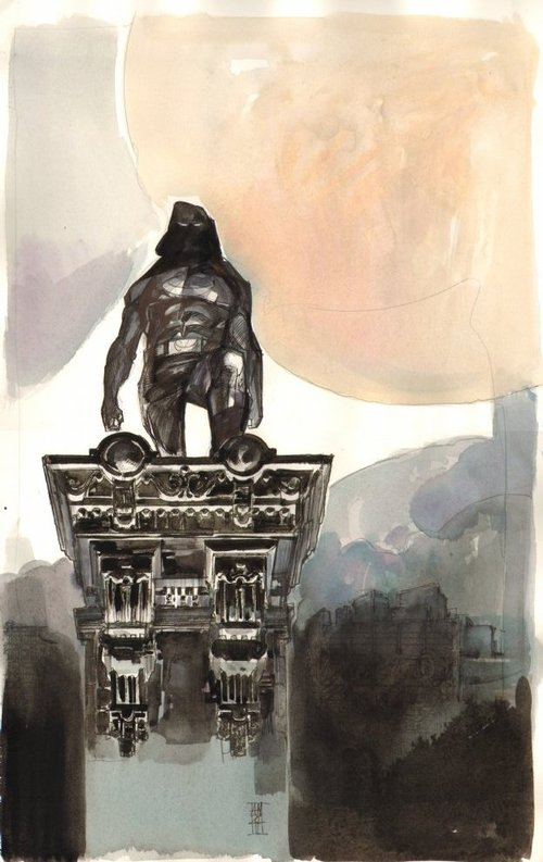 Moon Knight commission by Alex Maleev