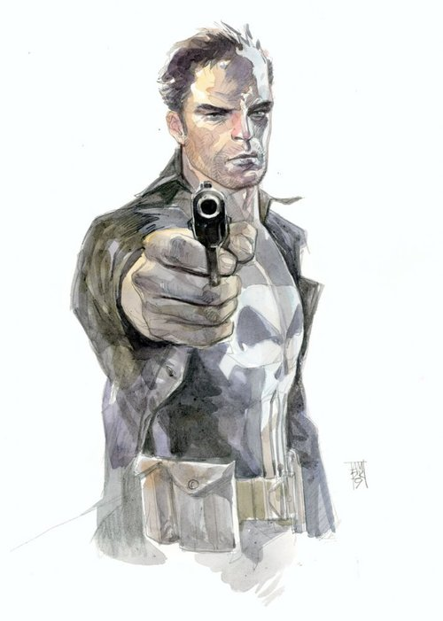 Punisher commission by Alex Maleev