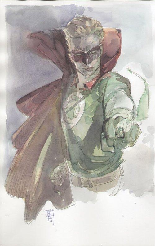 Green Lantern commission by Alex Maleev