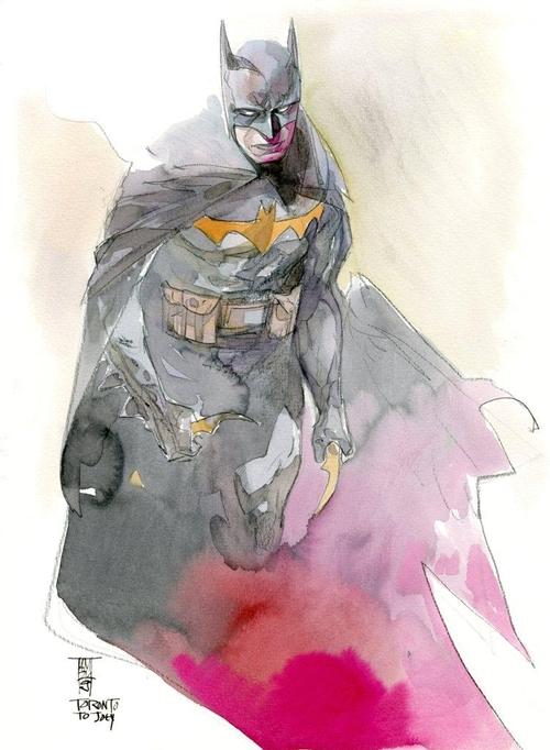Batman commission by Alex Maleev