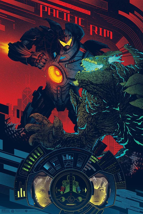 Pacific Rim poster by Kevin Tong