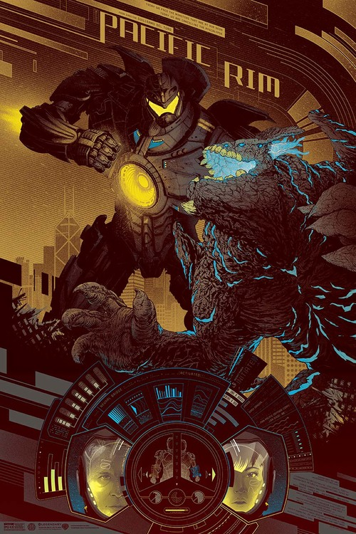 Pacific Rim gold variant oster by Kevin Tong