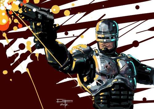 Robocop by Germán Peralta