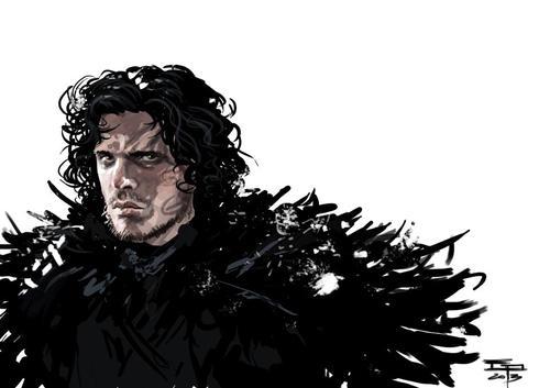 Jon Snow by Germán Peralta