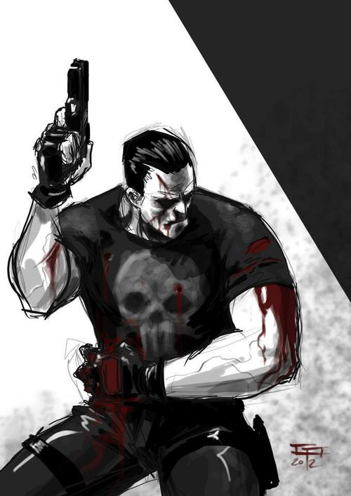 Punisher by Germán Peralta