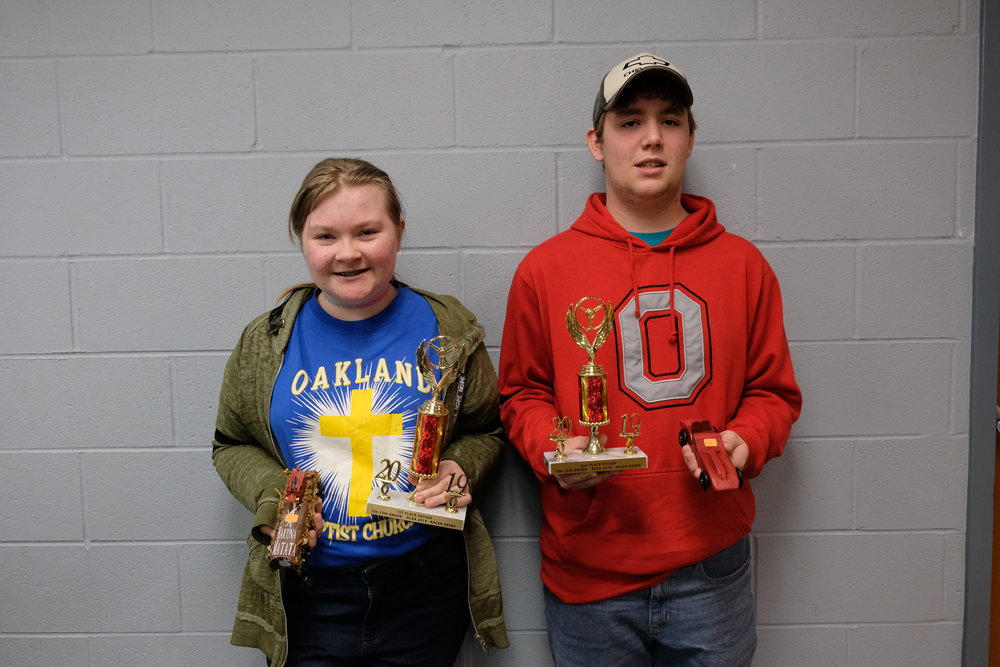 Best in Design 7th - 12th Grades Teanna Albin, Oakland and Cameron Scott, Rock Springs