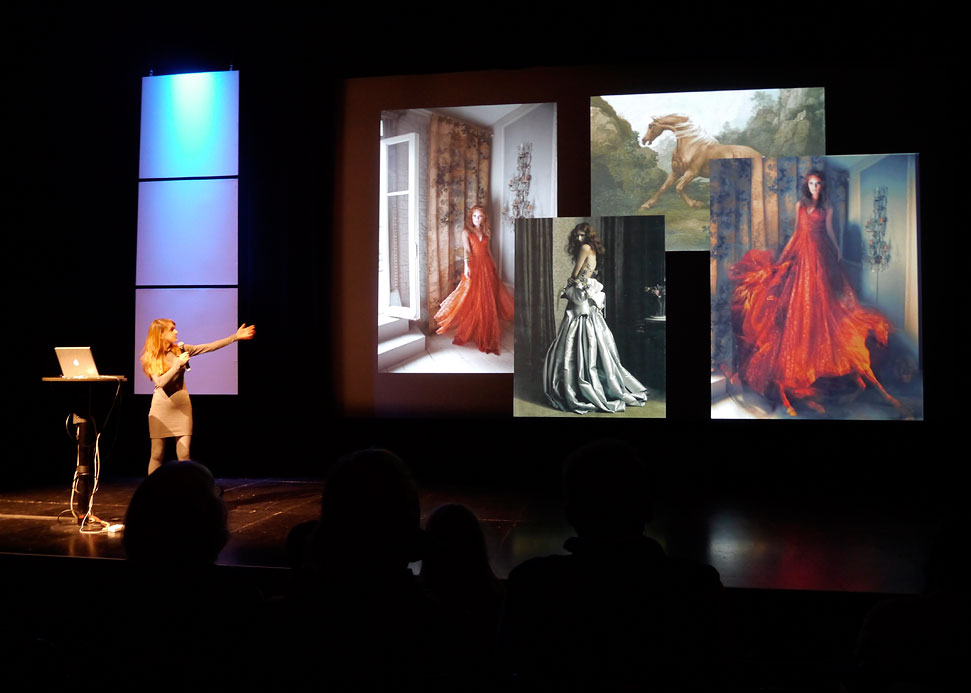 It was great listening to Miss Aniela and learning how she creates her surreal images. In 2007 when I lived in Brighton I visited her debut solo exhibition at North Laine Gallery (where I also had some pictures exhibited the year after). It was great seeing how she has kept doing what she loves and made a success out of it.
