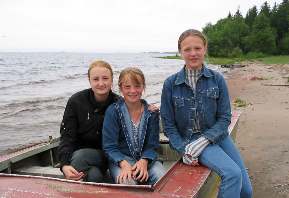 Katja, together with Tanja & Nina