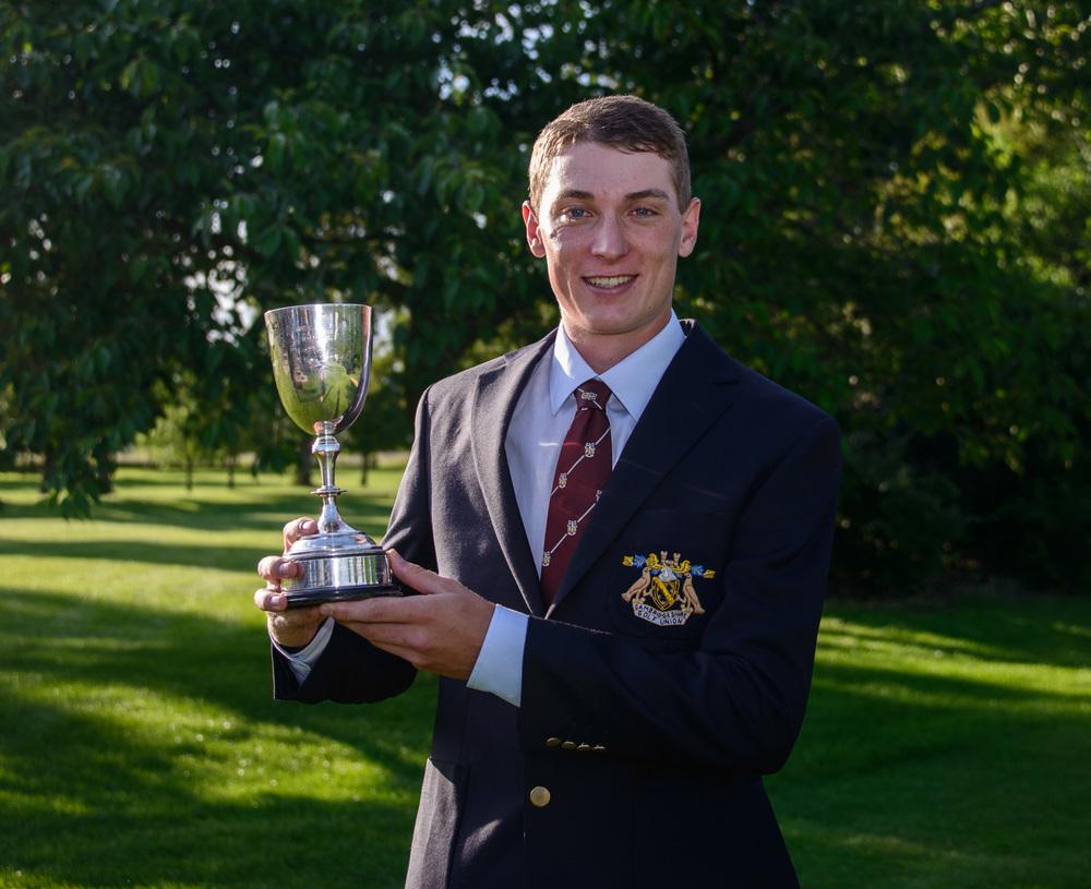Toby Crisp 2014 champion