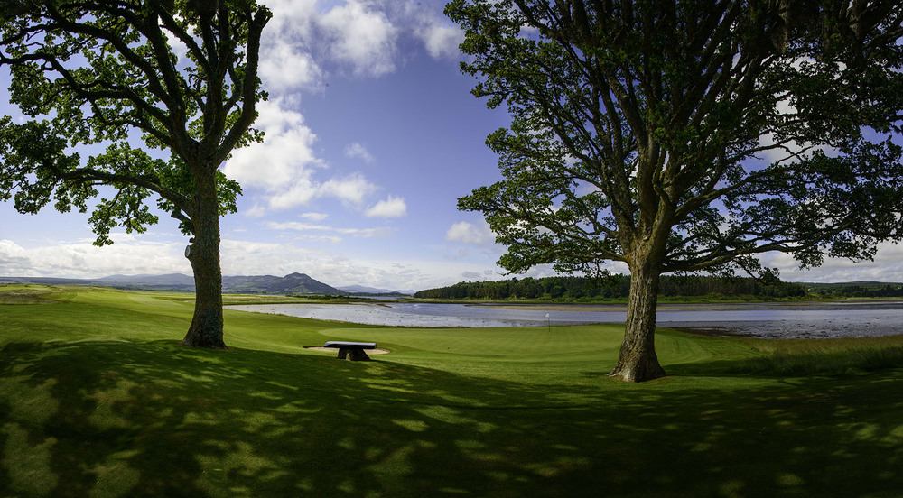 Skibo Castle Carnegie Club 18th hole