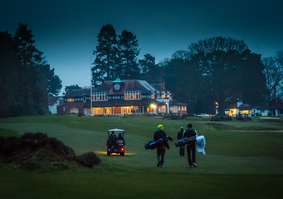 The reason golf buggies have headlights