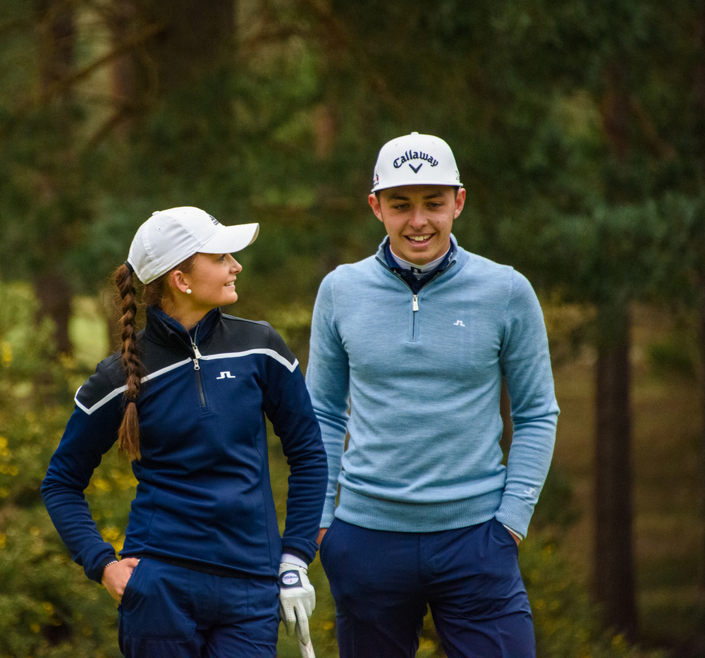 Perfect Sunningdale foursomes pairing?